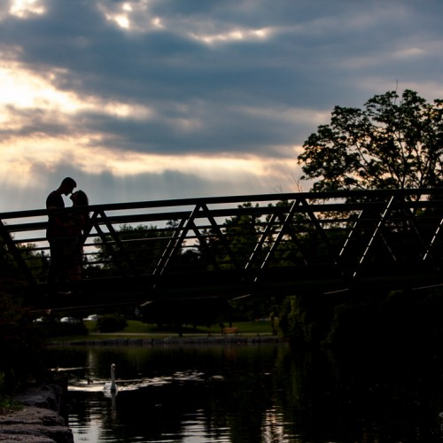 Kitchener Wedding Photographers | Danyel + Adam: Victoria Park engagement