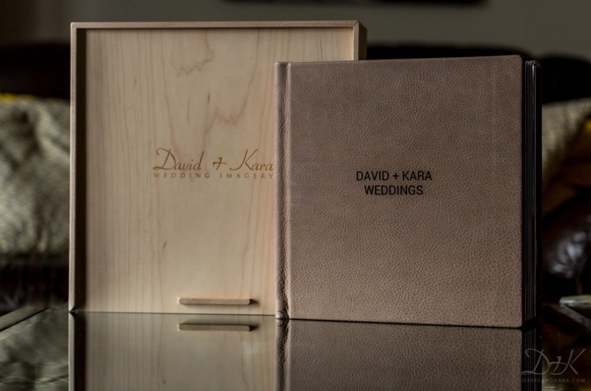 Our Black Label Album With Wooden Craftsman Box