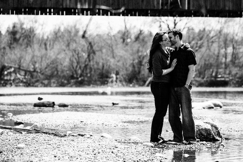 Guelph Wedding Photographers Elizabeth Thomas Royal City Park Engagement Session David